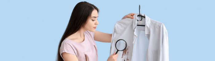 Cleaning stains